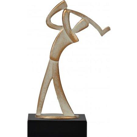 Metalen golf award