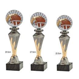 Resin standaard met Basketbal afbeelding