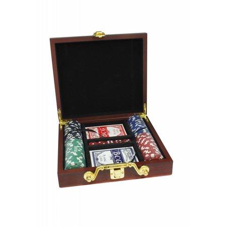 Luxe poker set