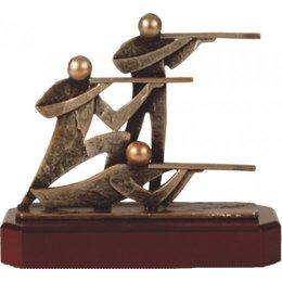 Schutters trofee metaal
