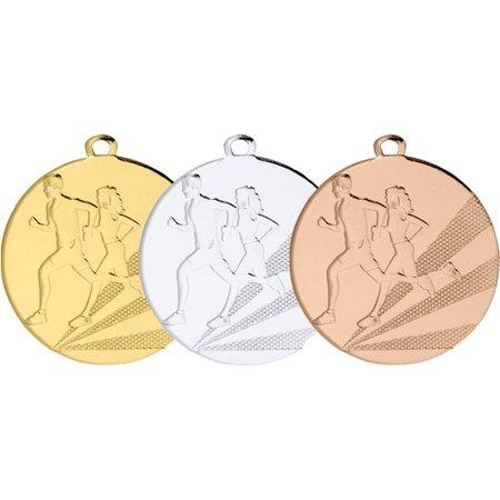 Medailles hardlopen ø50mm