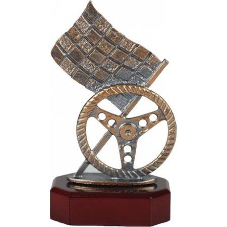 Metalen Rally trofee