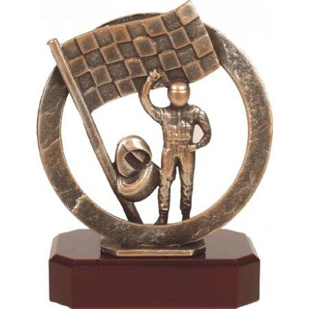 Metalen Race trofee