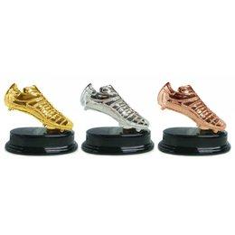 Voetbalschoen Goud/Zilver/Brons