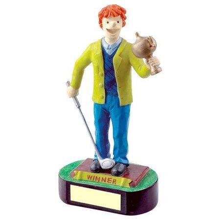 """Golf fun trofee """"Winner"""""""