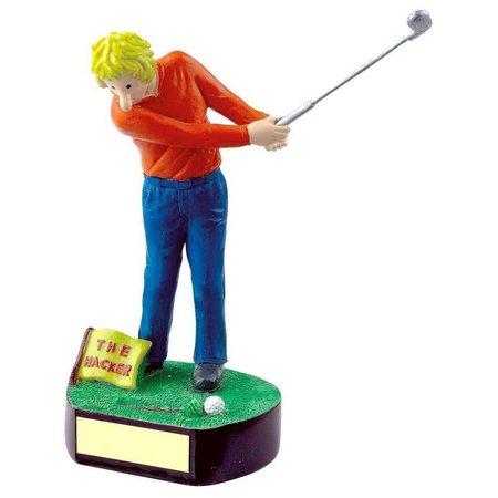 """Golf fun trofee """"Hacker"""""""