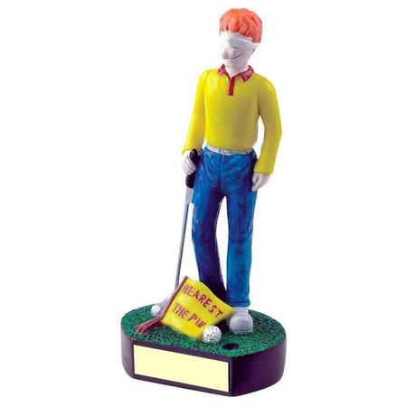 """Golf fun trofee """"Nearest the Pin"""""""