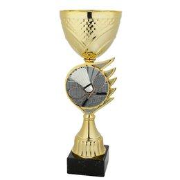 Badminton bekers goud