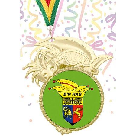 Carnavals medailles 85x50mm
