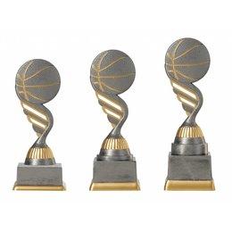Basketbal trofee 15.5cm t/m 18.5cm