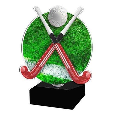 Acryl Hockey trofee full-colour