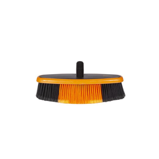 Wasborstel ovaal 360 x 85 mm waterdoorlatend Euro-Lock zacht