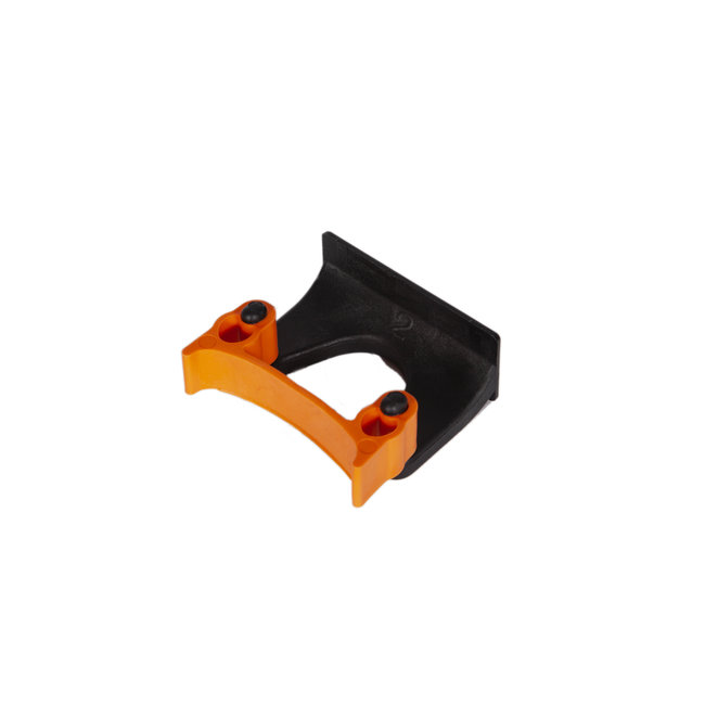 OrangeBrush Klem voor ophangrail ø 28-38 mm