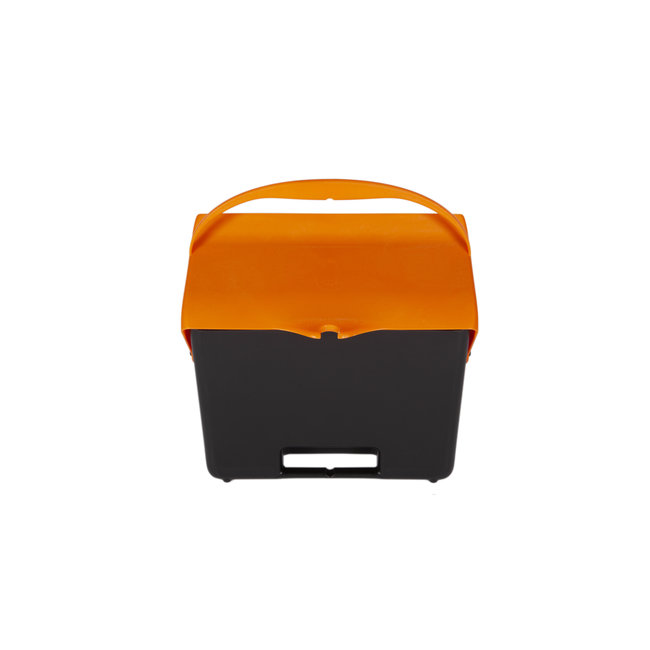 OrangeBrush Hotelstofblik met beugelgreep polypropyleen 7 liter