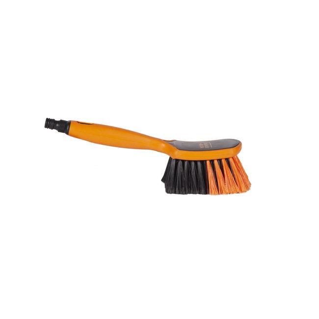 Handborstel 290 x 75 mm waterdoorlatend Euro-Lock zacht / gespleten vezel