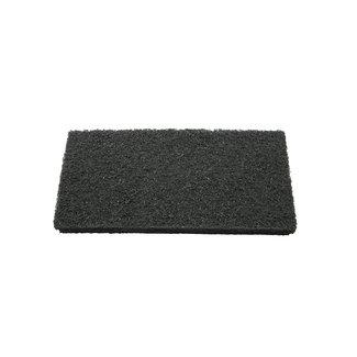 OrangeBrush Scouring pad 250 x 120 x 25 mm, coarse, black