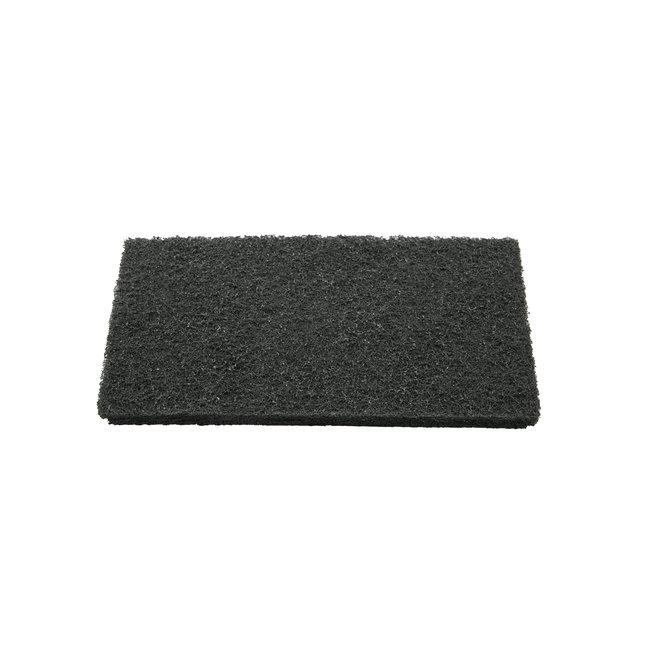 Schuurpad 250 x 120 x 25 mm, grof, zwart