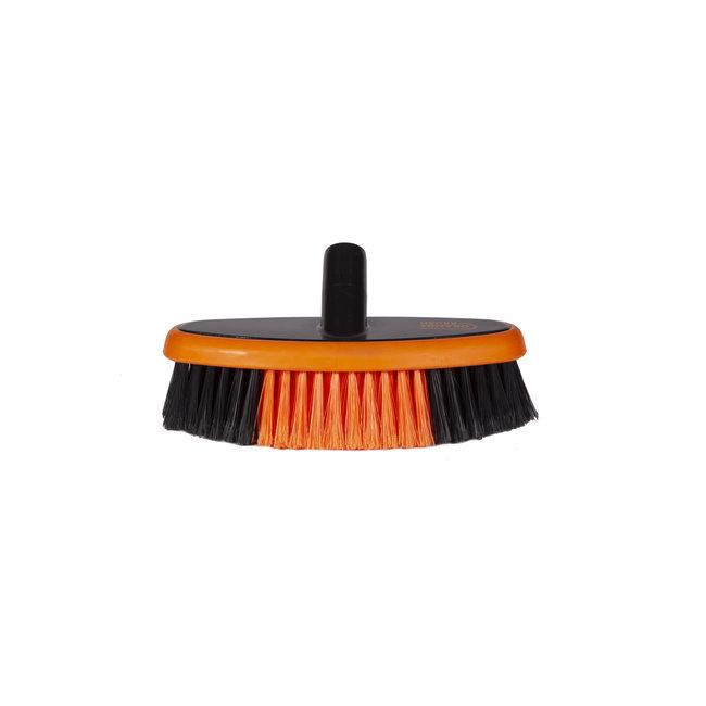 Wash brush oval 260 x 85 mm water fed Euro-Lock soft