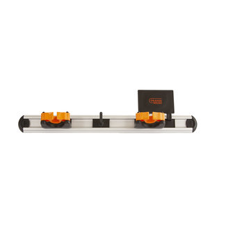 OrangeBrush Ophangsysteem 500 mm - COMPLEET (2x klem + 1x haakje)