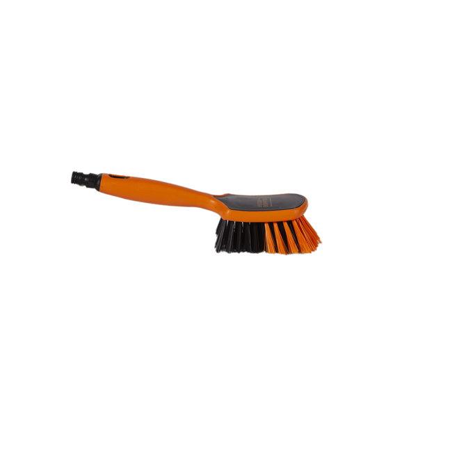 Hand brush 290 x 75 mm water fed Euro-Lock hard