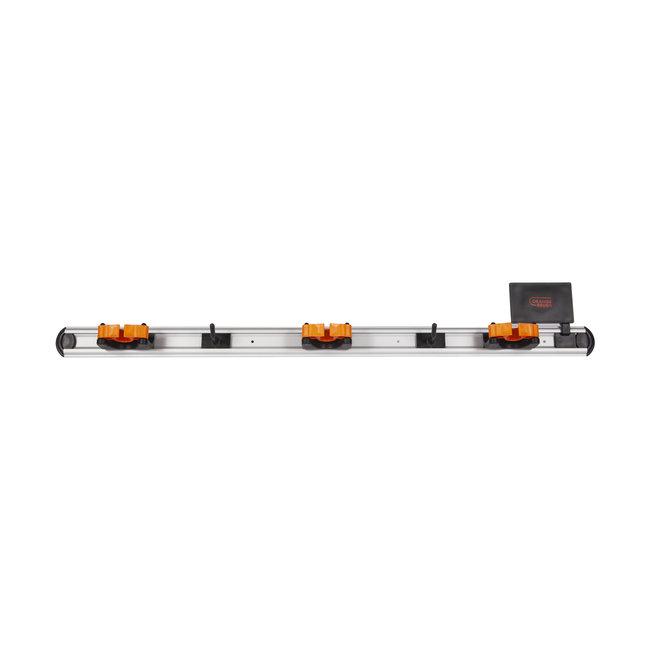 Ophangsysteem 900 mm - COMPLEET (3x klem + 2x haakje)