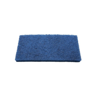 OrangeBrush Scouring pad 250 x 120 x 25 mm, medium, blue