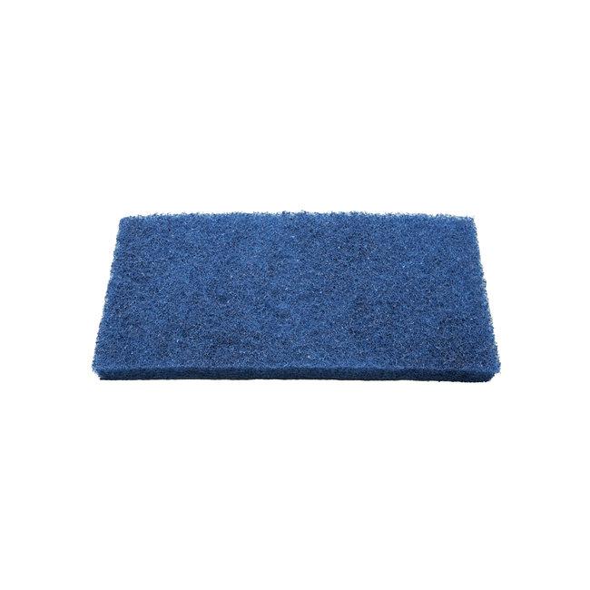Scouring pad 250 x 120 x 25 mm, medium, blue