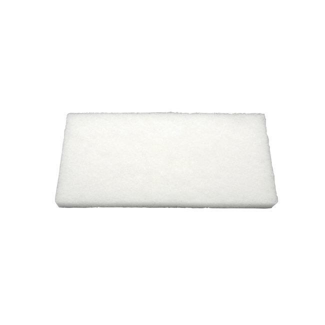 Scouring pad 250 x 120 x 25 mm, very soft, white