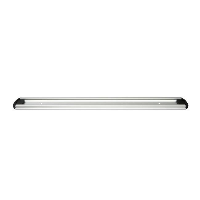 OrangeBrush Ophangrail aluminium 500 mm met eindstop - MAGNETISCH