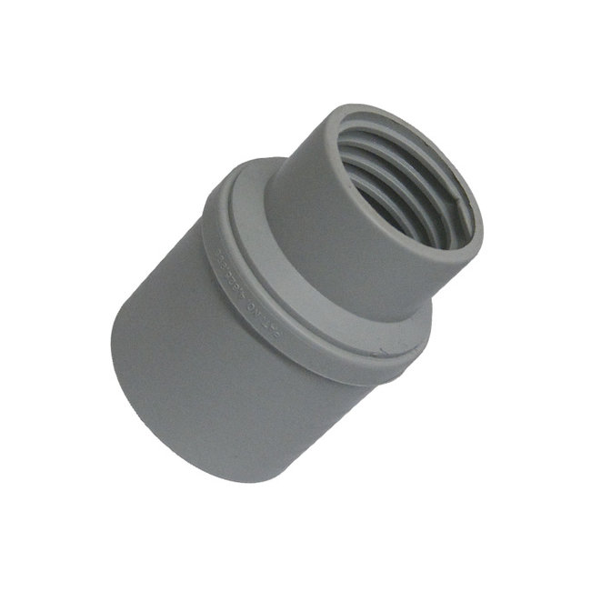 """Vacparts Hoseconnector 2"""" to 1,5"""" thread swivel"""