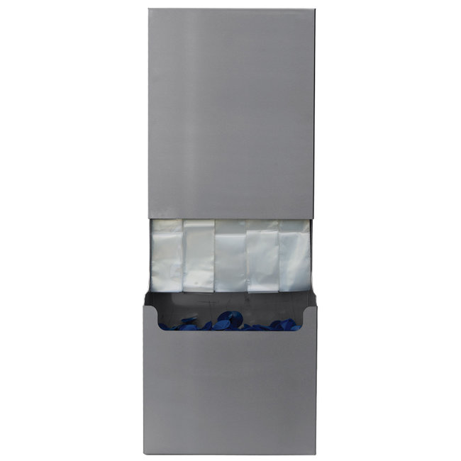 Stainless steel dispenser for wiper protection covers