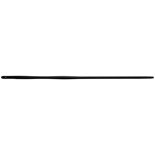 Flexibele kunststof steel 1450mm + US koppeling zwart