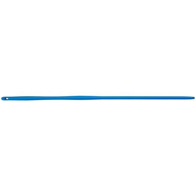 Flexible plastic handle 1450mm + US coupling blue