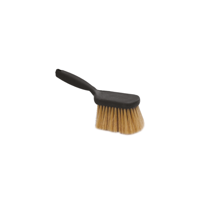 Pre-wash hand brush synthetic with short handle