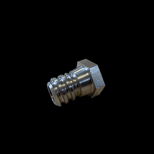V-rounder selfwash adapter US outside x 1/4'' inside