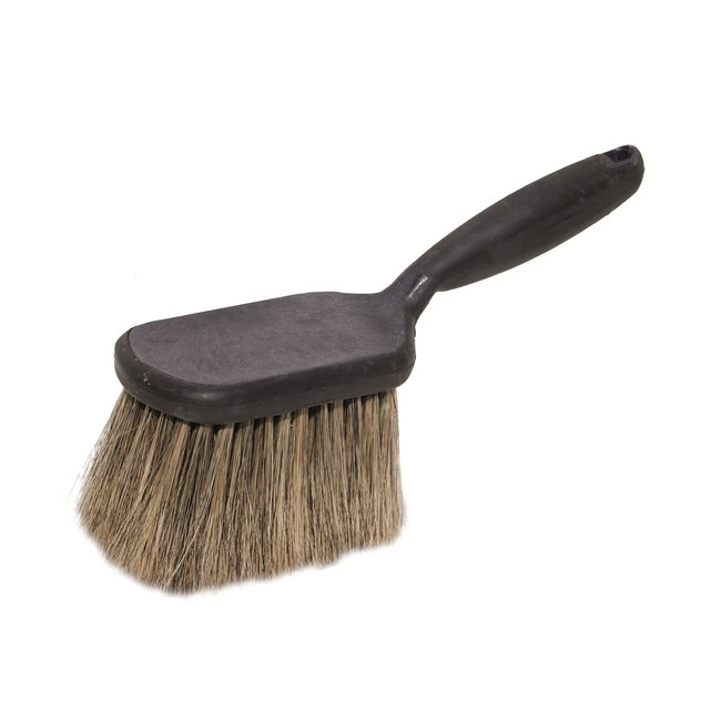 Hand brush short handle synthetic premium