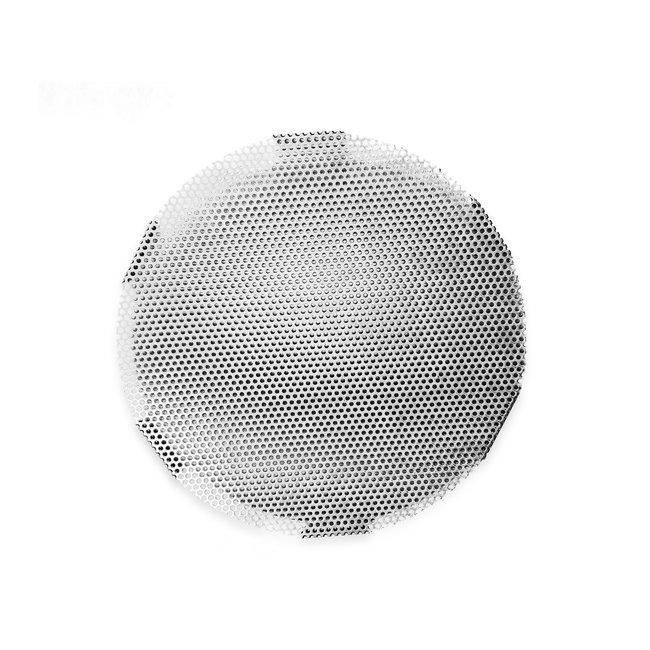Bezinkingsrooster rond model 2mm RVS