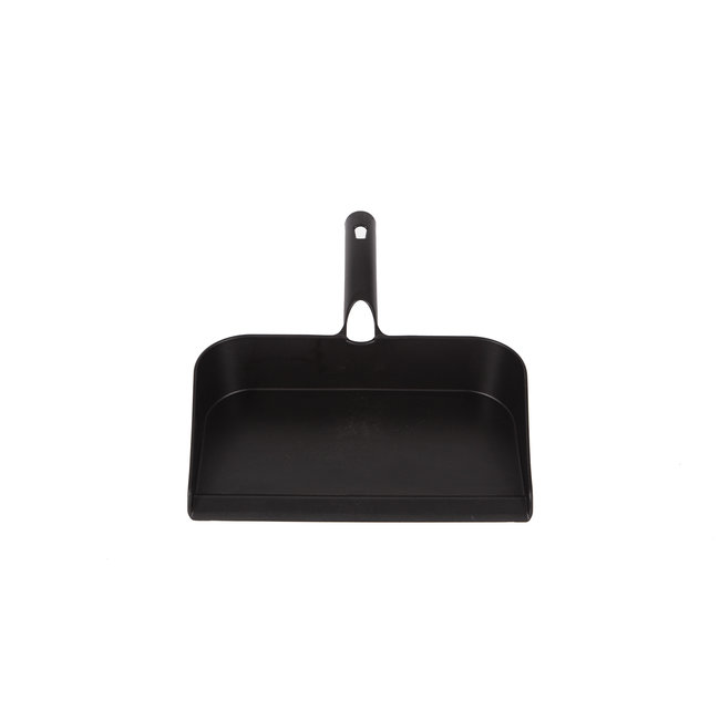 Dustpan 295 x 320 mm with clamping system for hand brush