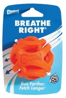 chuckit CHUCKIT BREATHE RIGHT FETCH BAL ORANJE 6 CM