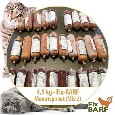 Barf 4,5 kg – Fix-BARF - Maand pakket