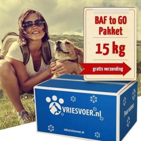 Barf 15-kg-BAF to GO-compleet pakket