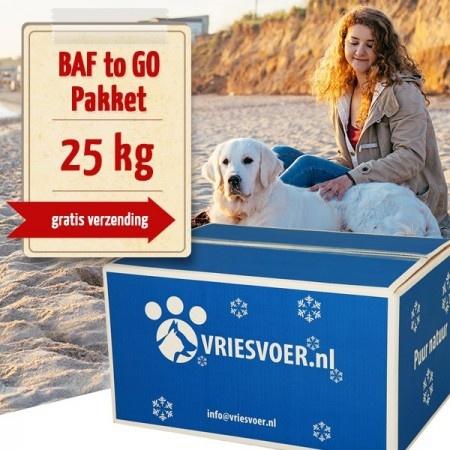 Barf 25-kg-BAF to GO-compleet pakket