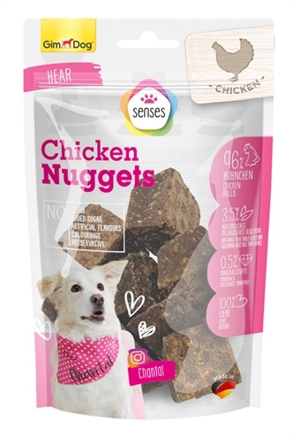 Gimborn Gimdog senses pure chicken nuggets