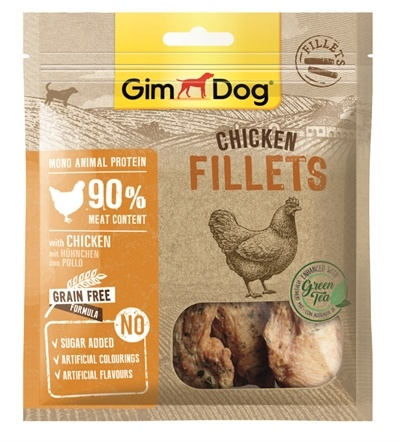 Gimborn Gimdog chicken fillets with green tea