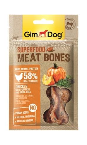 Gimdog Gimdog superfood meat bones kip / pompoen / nori algen