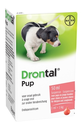 Bayer Bayer drontal ontworming pup