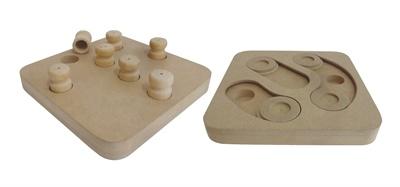 Croci Croci intelligentie speelgoed 2 in 1 hout