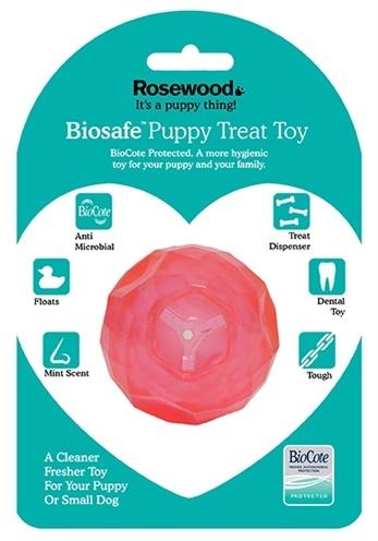 Biosafe Biosafe puppy snack bal roze