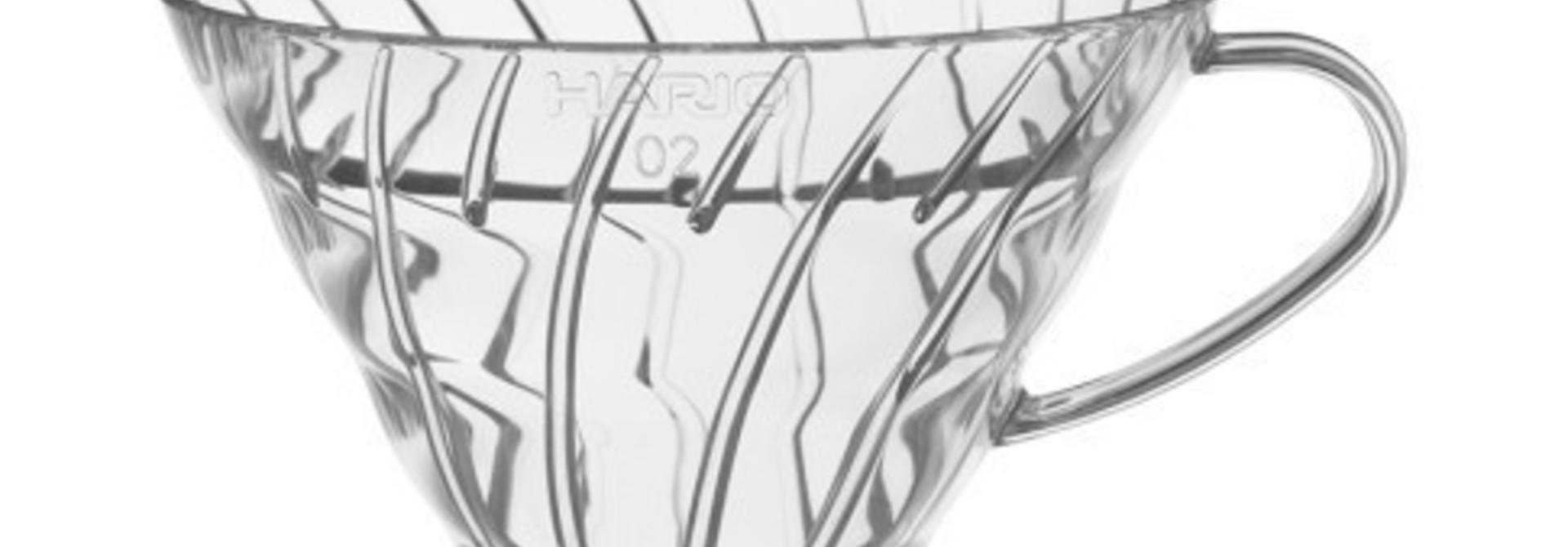 Hario V60 Plastic dripper (02) Clear
