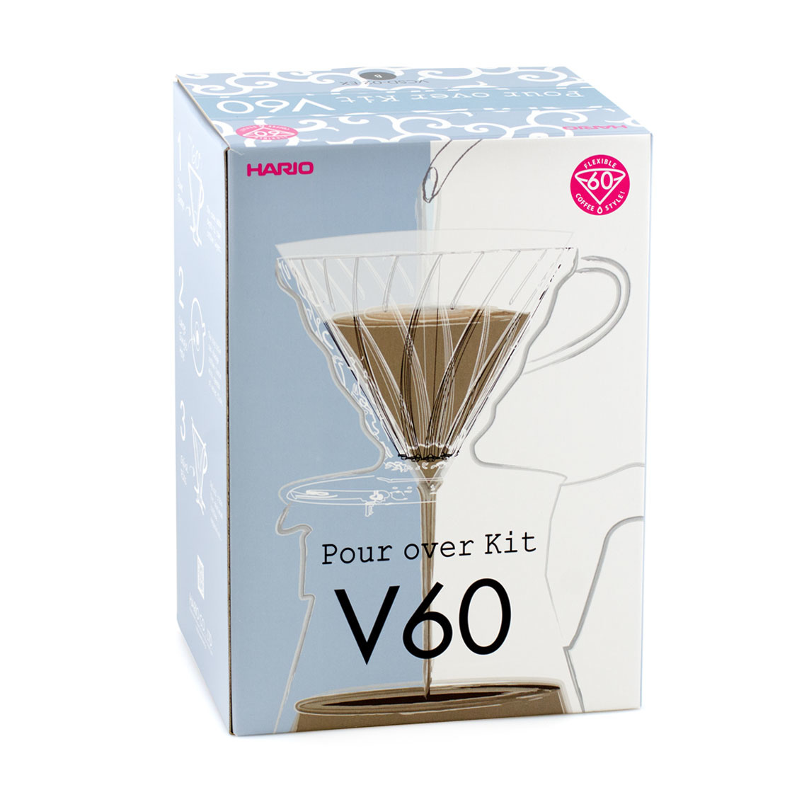 Hario V60 Pour Over Kit - Limited Edition-1